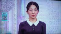 林田理沙アナがショートヘアにしました。同じNHKの近江友里恵アナにタイマン張っていますか?