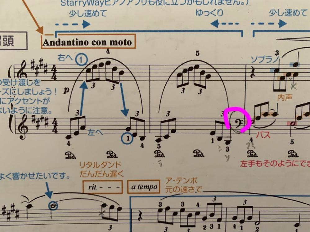 楽譜の読み方教えてください。 左手の話です。 画像のように、ト音記号ではじまり、 シャープがド、レ、ファ、ソについています。(ごめんなさい、ピアノ20年ぶりにやるので何長調というのか忘れま...