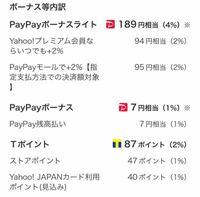 paypayボーナスはpaypayに付与されているのですが肝心なpaypayボーナスライトが付与されていないようです。なぜでしょうか?