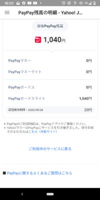 Yahooショッピングなどで使えるペイペイのボーナスポイントですが、今日の日付で20円ってかいてありますが、失効は20円だけですか? 残りはまだ使えますか? どなたか教えて下さい。 よろしくお願いします。