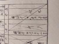 家系図作っていて戸籍で読めない名前あるんですけど、セモさんですかね? セトじゃないかという話があるんですがセトと読めますか?
