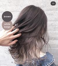 この髪色ってパーソナルカラーでいうとどれに当てはまる人に似合いそうですか? 顔のタイプなどにもよるかと思いますが教えていただきたいです。