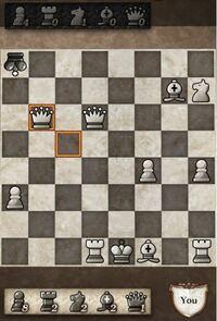 チェスを始めたばかりの者ですが、最後に白がクイーンを動かして、ドローで終わったのですが、どうしてドローになったのか教えて欲しいです。よろしくお願いします。