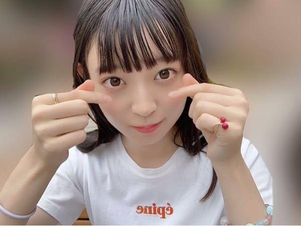 男性に質問。 若者に流行りの『キュンです❤︎』のポーズをしている乃木坂46・阪口珠美ちゃんが可愛いと思いますか?
