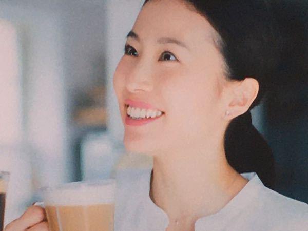 この女性の名前わかりますか? ネスカフェのバリスタのCMに出演しています。
