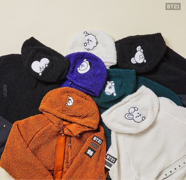 bt21のこの服はオンラインで売ってますか? 日本で買えますか 韓国 bts