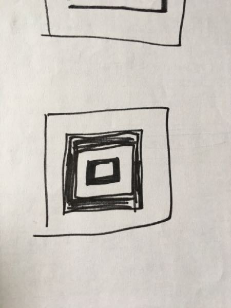 かぎ針編みで 正方形の中に黒く塗られた部分を編まずに、正方形を仕上げる方法なんてありますか? バッグを編もうと思いますが 中身が見えるバッグにしたいです