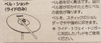 RolandのTD17KVXのライドシンバルついての質問です。 ライドシンバルでベル・ショットを鳴らしたいんですが この説明書(ライド・3ウェイ・トリガーに対応したパッドをご使用ください)と記載されているのですが今...