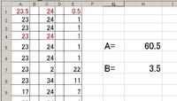 A1からA31、C1からC31までランダムな数字が入っているとして E列の黒文字数値の合計を出し E列の赤文字数値の合計を出すマクロを教えてもらえませんか? 尚、黒文字がA、赤文字がBとしています。 よろしくお願いいたします。