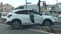 交通事故現場を通ったのですが、写真の当該車両の車種名を教えてください。