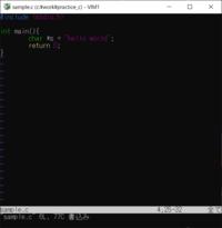 C言語の質問です。  ポインタ変数にhello worldと入れてるのですか? ポインタはアドレスを覚えるものだと思うのですが、、