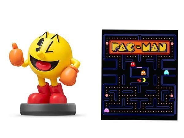 全然ゲームとか詳しくないのでお恥ずかしいのですがこの左右のパックマンは同じキャラクターですか?