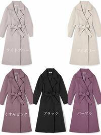 パーソナルカラー:ブルベ夏 顔タイプ:エレガント  GRLのコートを購入しようと考えているのですが、 色はどれが一番似合うでしょうか?