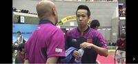 この卓球の中国代表の選手の名前教えてください。 2015年の時24歳です。