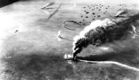 もしミッドウェー海戦で飛龍の反撃が、第一次攻撃隊でヨークタウンを撃沈し、第二次攻撃隊でエンタープライズを大破させます。 海戦後、駆逐艦に曳航されるエンタープライズを伊168が撃沈し た場合、その後の戦局...