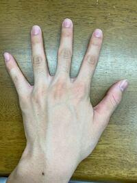 自分の指毛があまり気に入りません。剃るかこのままにするか、どっちの方が男らしい手だと思いますか?