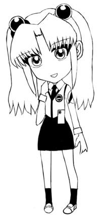 [クイズ] 二次元キャラをSDで描きました。誰だかわかったらご回答願います。 この画風で何か描いてほしいキャラが有りましたら、リクエストもお願い申し上げます。   ※初めて回答される方優先でお願い申し上げ...