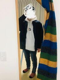高校2年生男子です ファッション苦手です 遠足に着ていこうかなと考えているのですがダサいと思われないですかね?