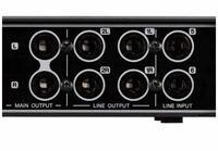 オーディオインターフェースのケーブルについて。 写真の6.35ピンの入出力について LRのピンが分かれている物は  ディアルフォンケーブルと ディアルTRSフォンケーブルでは  何か違いがあるのでしょうか?  お詳しい方教えて下さい。