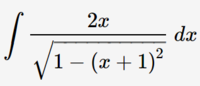 不定積分 この問題の解き方を教えてください。