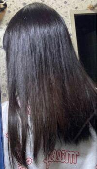 髪のツヤについて 写真の通り髪の毛の下半分だけ髪のツヤが全然ないです。 2月くらいに1度遊びで半分だけ染めたのが原因だと思うのですが、これは美容院に行ったら少しは良くなりますかね、?