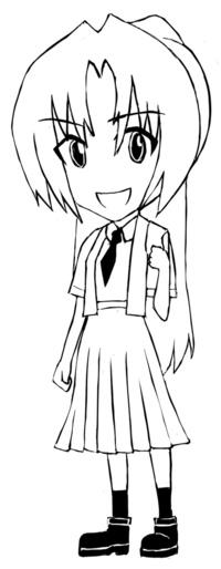 [クイズ] 二次元キャラをSDで描きました。誰だかわかったらご回答願います。 この画風で何か描いてほしいキャラが有りましたら、リクエストもお願い申し上げます。    ※初めて回答される方優先でお願い申し上...