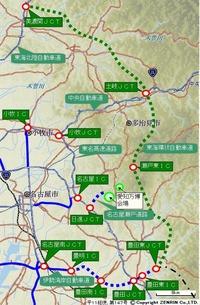 東海環状自動車道は愛知万博に合わせて豊田東JCT〜美濃関JCT間を開通させましたが、美濃関JCT以西は何故後回しにされたのですか?