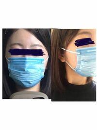 マスク小さいですかね? 元々顔は小さくないと感じてます。 14.5センチのだと小さいし、17.5の大人のだととても大きいです。