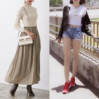 女性に質問。中国人のファッションってダサいと思う? 私は日本語学校に務める20代後半の男性です。画像は左が日本によくいるファッション、右が中国人のファッションです。私の学校の留学生達は春から秋にかけて...