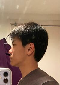 この髪型でストレートパーマかけたらどんな感じになりますか?