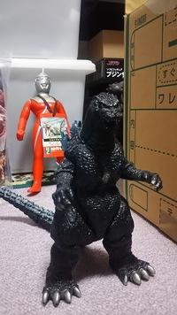 ゴジラアイランドの怪獣シリーズG01似ていますが、身長が22㎝ぐらいあります。バンダイの別のシリーズでしょうか?