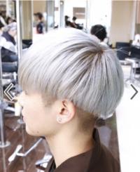 髪色を画像のようなホワイトにしようと思うのですが、女性から見てこういう髪色の男性はアリですか? また、どのような印象を受けますか?