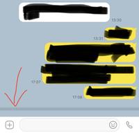 カカオトークで  ギザギザ?波線が出ています。 これは、相手のメッセージを、私が未読のまま日数が経過し、見れないということですか? それとも、1つ前の私のメッセージを、相手が未読のまま  見れなくなっているということでしょうか?    表示は、既読にはなっていると思いますが  どちらなのかと思いまして…    又、線は相手にも出ているのでしょうか?
