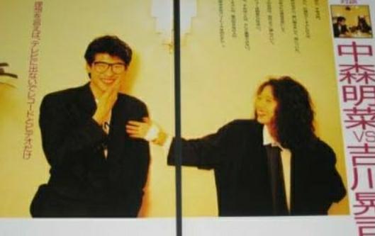 吉川晃司さんの「マリリン」 中森明菜さんの「ノーマジーン」 どちらが好きですか? https...