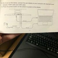 液タブのケーブルについて usbケーブルは何のために繋ぐんですか?