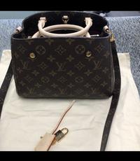 ルイヴィトン モンテーニュ こちらのバッグは本物でしょうか?
