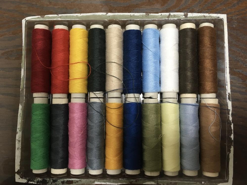 何色と何色の糸を混ぜれば金色に見える?近くなる?