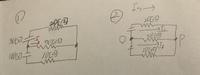 電気回路の問題の解答解説をお願いします (1)鳳-テブナンの定理を用いて①の50Ωに流れる電流を求めよ。 (2)帆足ーミルマンの定理を用いてVpoを求めた後、各枝路に流れる電流を求めよ。