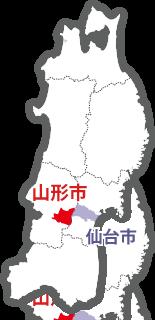 宮城県仙台市と山形県山形市は隣り合わせですが、京都府京都市と滋賀県大津市の関係ほどではないのですか?