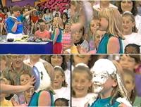 外国のバラエティ番組では、子供でも罰ゲームで容赦なくパイ投げされてます。 参加してやられてみたくないですか?