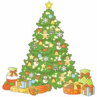 本日12月7日はクリスマスツリーの日です(*˙˘˙*) 皆さんクリスマスツリーは飾っていますか?