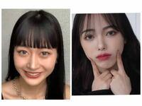 左のお顔から右のお顔になるにはどの点を変えたら良いと思いますか?