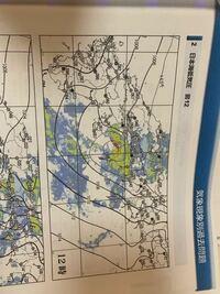この天気図で低気圧の中心を探すにはどのようにしたらいいのですか?
