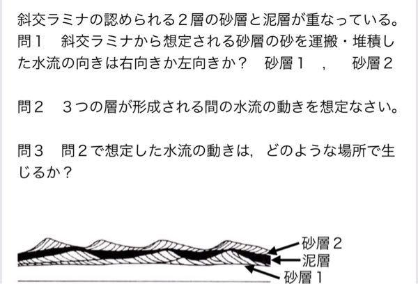地学の問題です。解答よろしくお願いします。