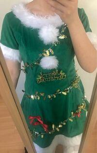 これクリスマスツリーっぽく見えますか? どうしたらもっとツリーに見えるかアイディアください!!!!