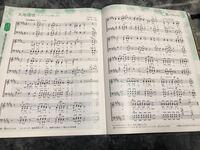 大地讃頌で音取りを務めることになりました。 でも私はピアノの経験がなく、音符もシャープなどは分かりません。 そこで大地讃頌のソプラノパートの音符を書いてくれる方いませんか。?  写真を貼りましたので、...