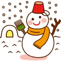 雪だるまといったら何色をイメージしますか?