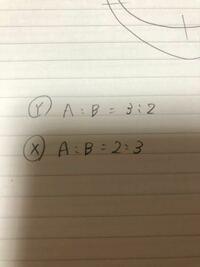 この答えが、9対6対4と計算されるのですが、どうやって計算しているのでしょうか??