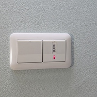 換気扇についてです。赤ランプが電灯しているのは換気している意味でしょうか? 教えてください。 よろしくお願いしますm(_ _)m