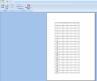 マイクロソフトのエクセルで票を作ったのですが格子のあと太枠罫線を使いましたが印刷プレビューでは下のほうが普通の線になりました。 印刷した太枠になりますか?
